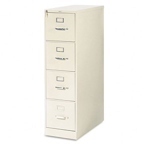 4-dr Vertical File Cabinet - Putty