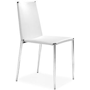 Celo Chair White 24x24x17h