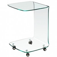 Glass End Table (M004 bstm)