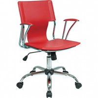 Gossip  Chair Red 22x22x37h
