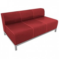 Havana RED Loveseat 52x34x34