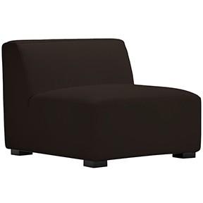 Havanna Chair BROWN  Leather  28x28x34h
