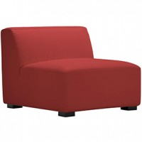 Havanna Chair RED Leather  28x28x34h (2)