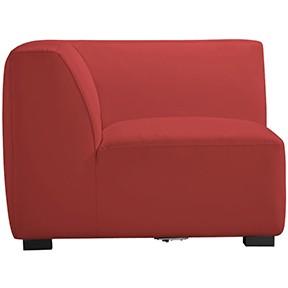 Havanna Corner RED Leather 28x26x34h