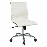 Laden Armless Chair-White