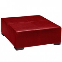 Lenox Square Red Leather