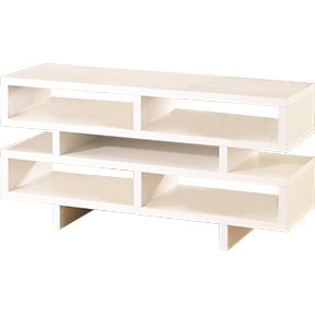Lucca Entertainment Center- White
