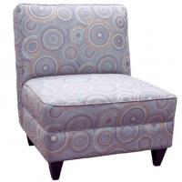 Maxim Chair 26x32x34 Grey pattern Fabric