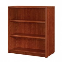 Miller 3-Shelf BookCase-Cherry