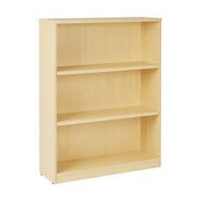 Miller 3-Shelf BookCase-Sand