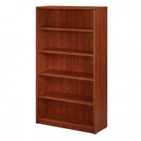 Miller 5-Shelf BookCase-Cherry