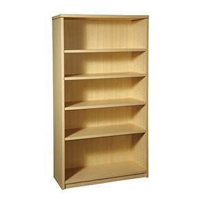 Miller 5-Shelf BookCase-Sand