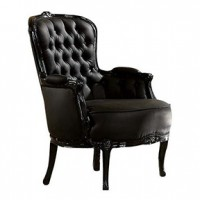 Park Ave Black Barclay (59148_l  acm 221) 25x28x35h