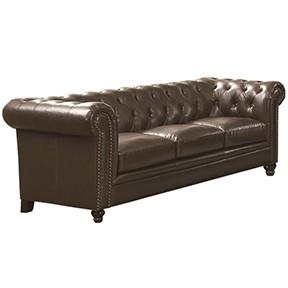 Royhill Sofa 93x37x34 espresso leather