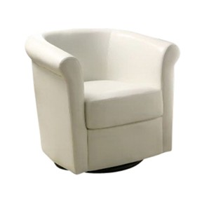 Ruether Stage Chair  Swivel  White  (Cst)