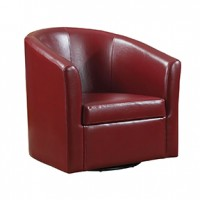 STAGE Banker Chair Red Cst