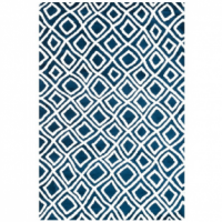 Blue Craze Rug- Blue and White Area Rug