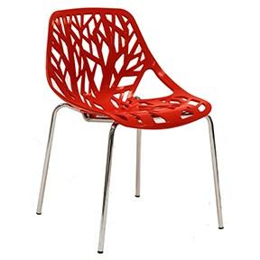 Spider Chair 21x21x31H-Mod EEI-651-RED-1