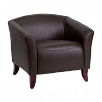Stylus Chair 32x29x30h Expresso Leather (flash)