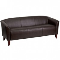 Stylus Sofa 72.5x29x30h Expresso Leather (flash)
