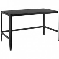 Tia table 48x25x29h Black ( Lumi)