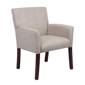 Villio Chair 25x25x36 Creme Fabric