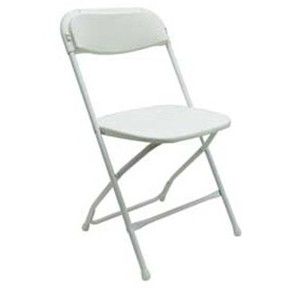 White-Folding-Chair